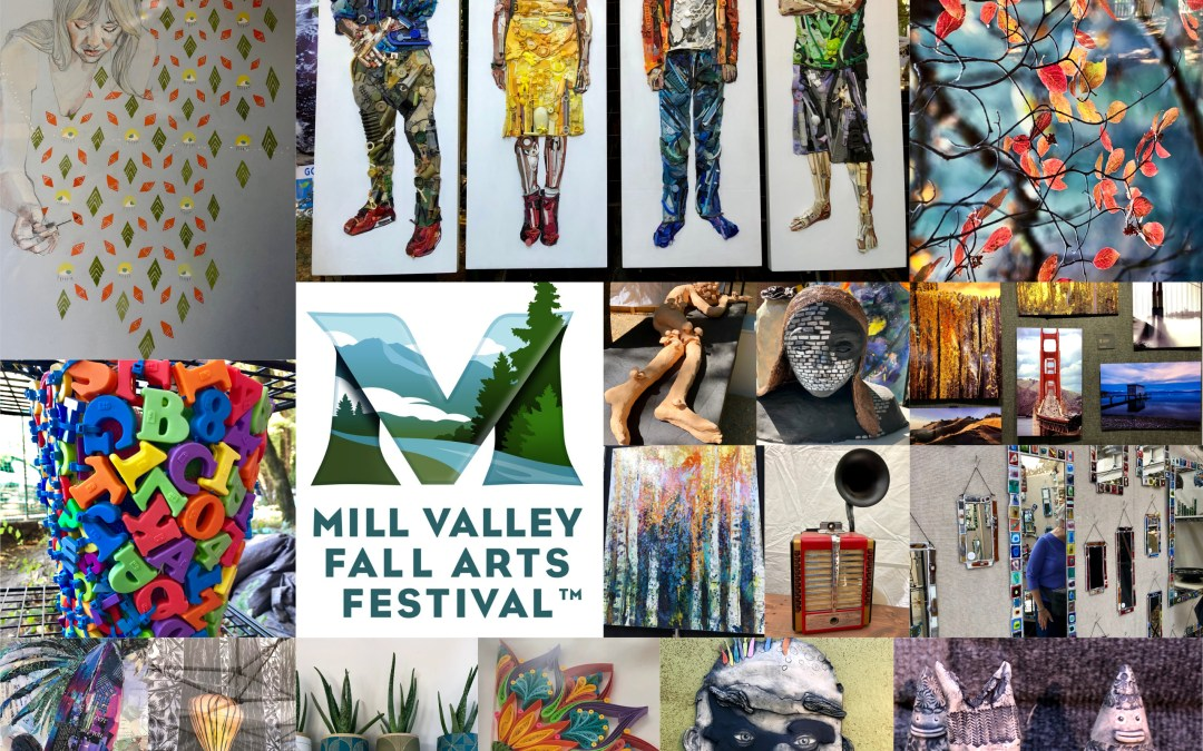 Volunteer in an Art-Laden Redwood Grove at the Mill Valley Fall Arts Festival in Old Mill Park – Sept. 18-19