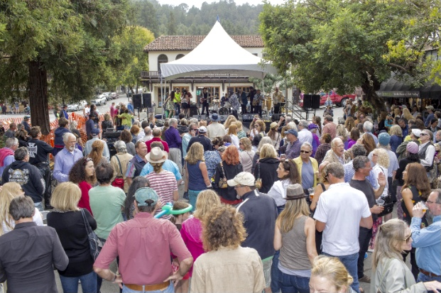 """Larry the Hat's """"Mill Valley Community Block Party"""" Returns to Downtown Mill Valley – Sunday, October 3, 1-5:30pm"""