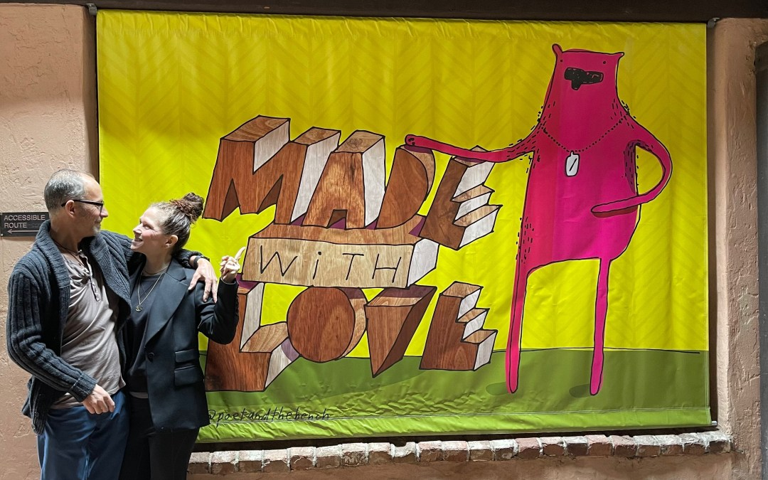 Poet and/the Bench Unveils 'Made with Love' Mural, Debuts a Photo and Coloring Contests